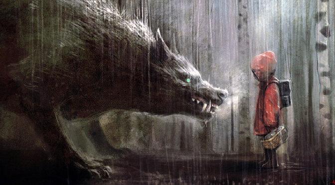 Sprookjes: Roodkapje en de weerwolf