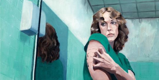 Psycho-analytische roman: Patricia De Martelaere, Littekens (1990)